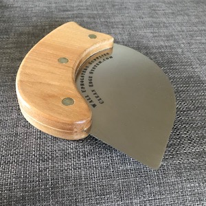 ergonomic metal spatula